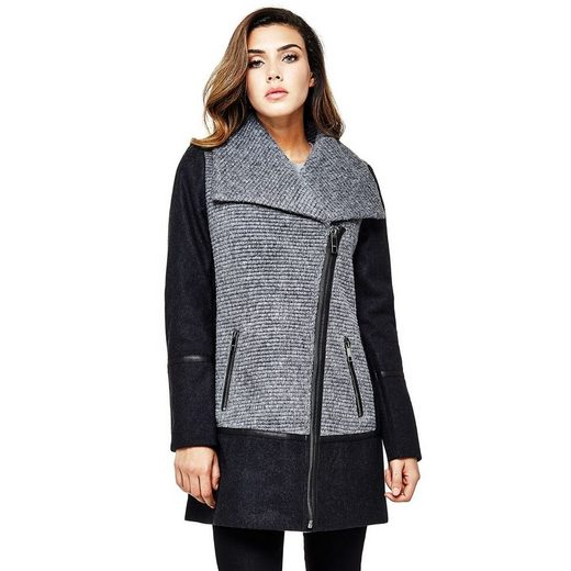 Guess Coat Color Contrast