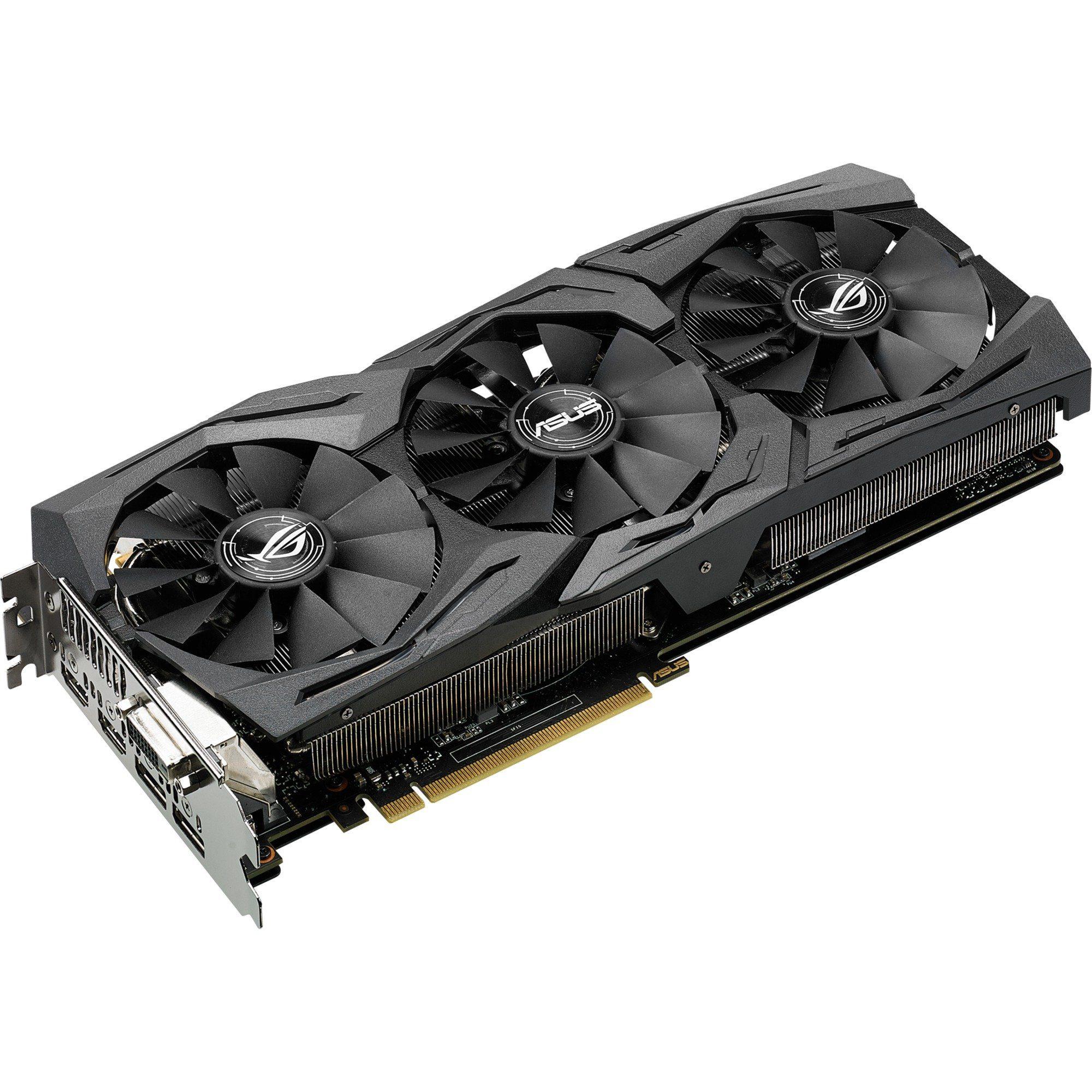 ASUS Grafikkarte »GeForce GTX 1080 STRIX Advanced«