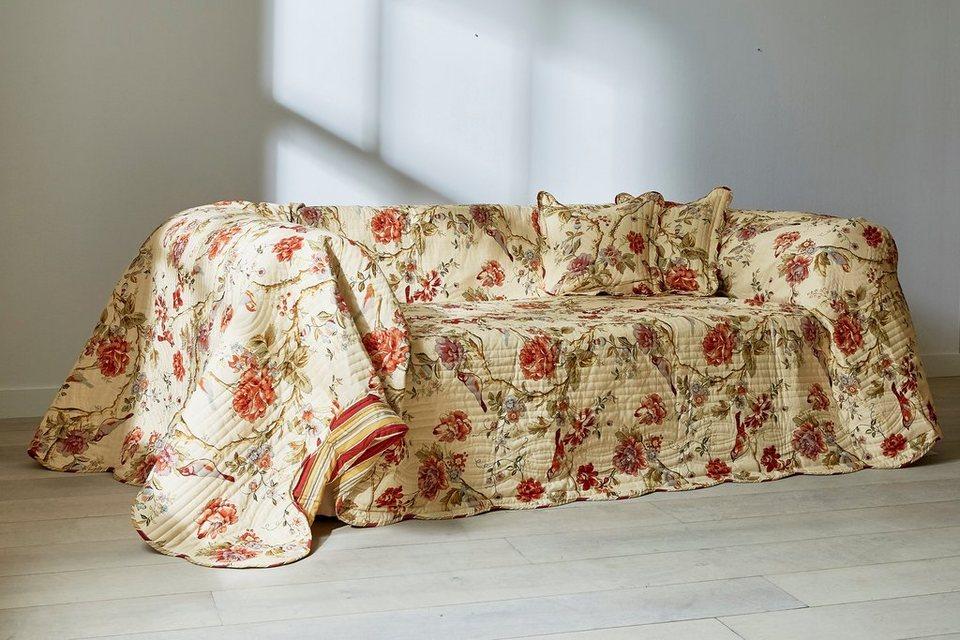 Heine Home Sofaüberwurf Gesteppt Online Kaufen Otto