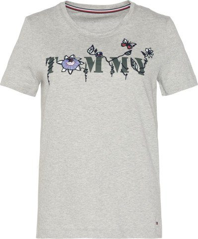 Tommy Hilfiger T-Shirt TOMMY FLORAL TEE SS