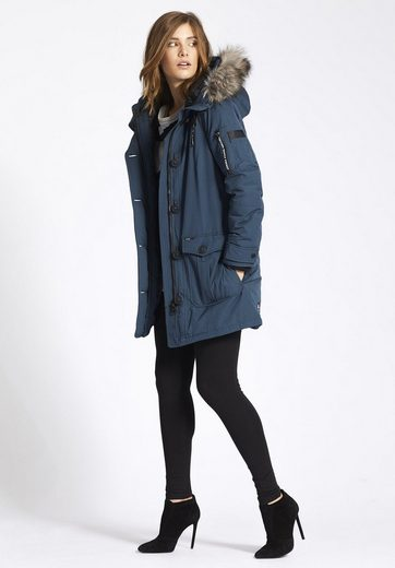 Khujo Winterjacke Rachel, With Removable Faux Fur On The Hood