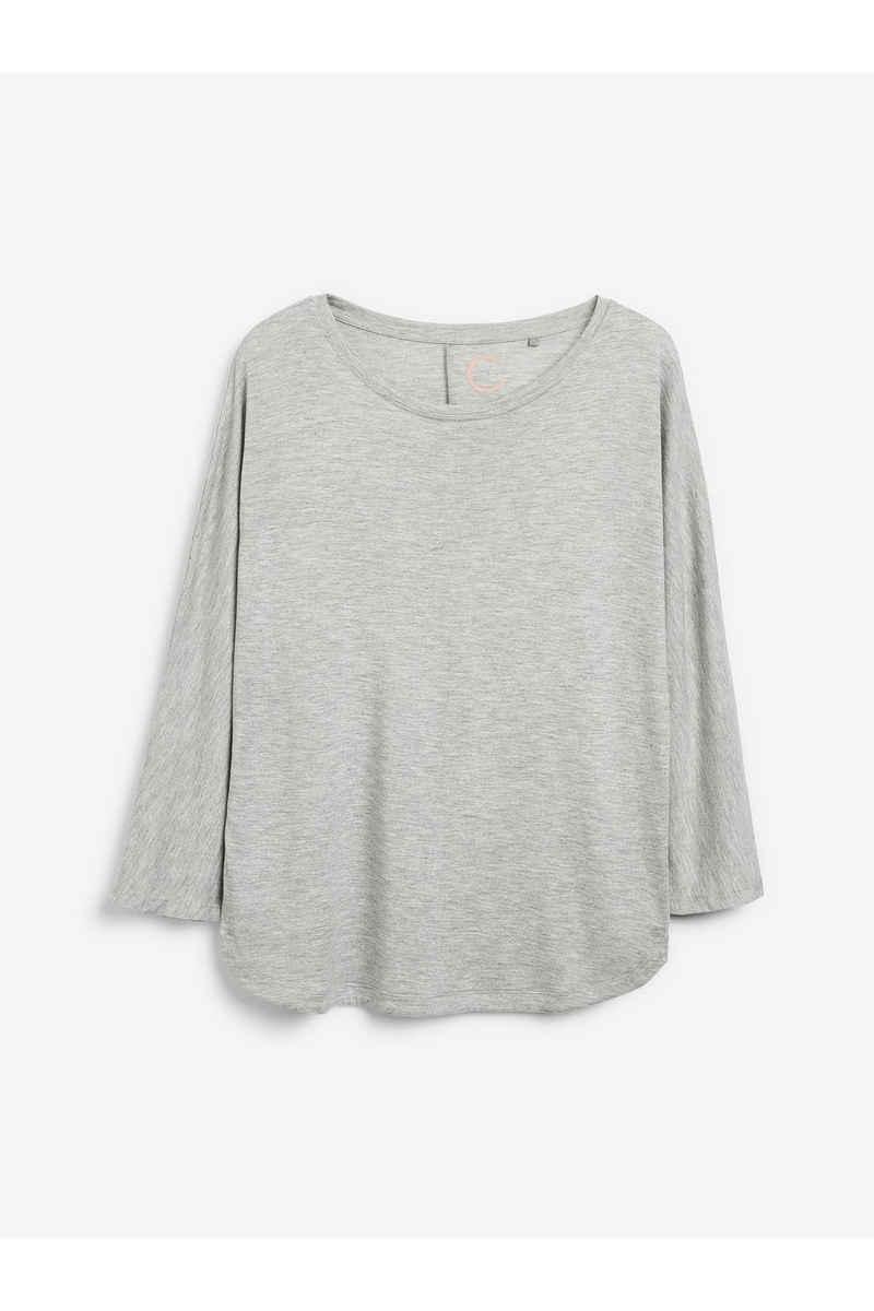 Next 3/4-Arm-Shirt »Viskose-Top mit Dolmanärmeln« (1-tlg)
