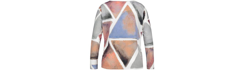 Samoon T-Shirt Langarm Rundhals Blusenshirt mit geometrischem Print Billig Holen Eine Beste Rabatt Bilder Günstig Kauft Besten Platz Auslass Größte Lieferant kXaY6