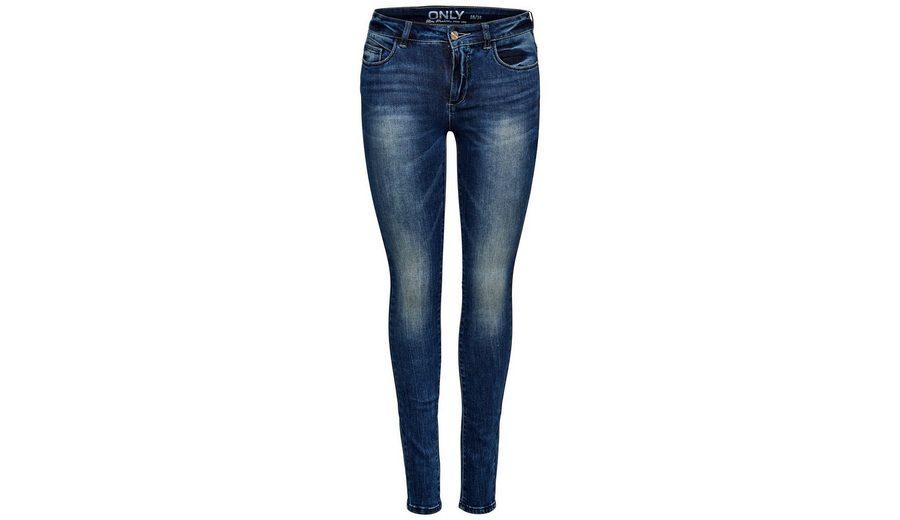 Only Carmen Reg Jeans in Skinny Fit mit Normal Waist Eastbay Günstigen Preis Footaction Online Online Einkaufen SmjQxhT