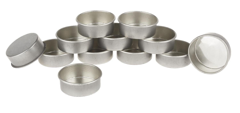 Kerzentüllen ´´Teelichter´´ 12 Stück   Dekoration > Kerzen und Kerzenständer > Teelichter   Metall
