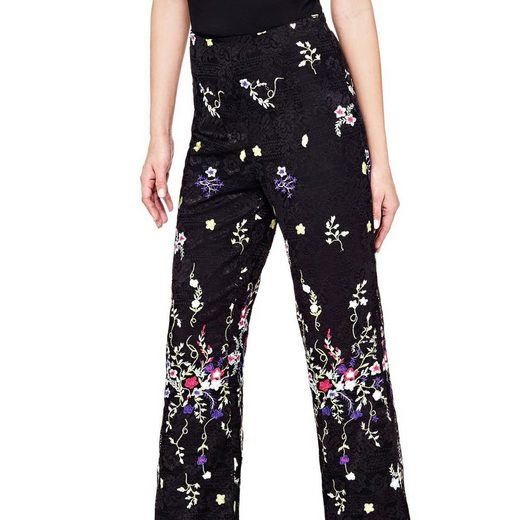 Guess Trousers Top Flowers