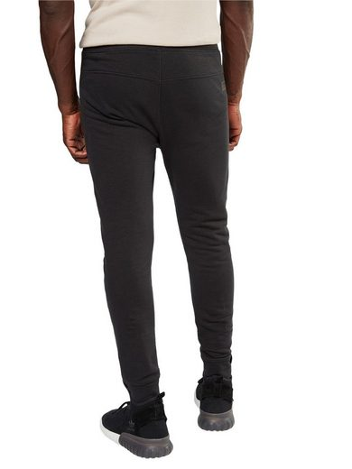 Tom Tailor Denim Sweathose jogpant with zipdetails, Bund mit Tunnelzug