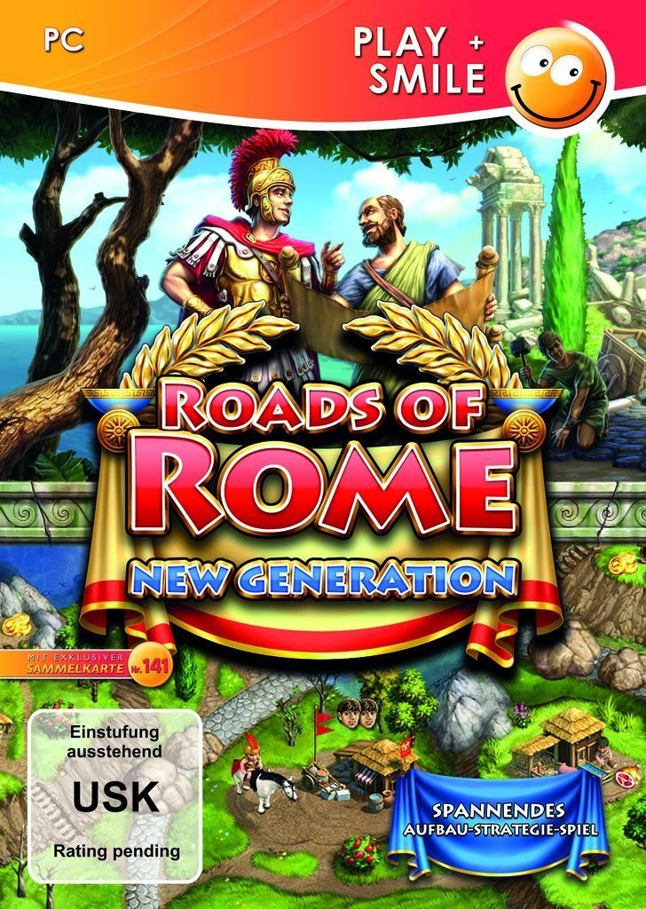 Astragon PC - Spiel »Roads of Rome: New Generation«