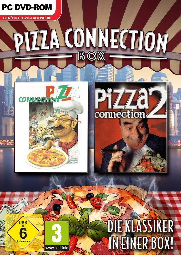 Astragon PC - Spiel »Pizza Connection Box«