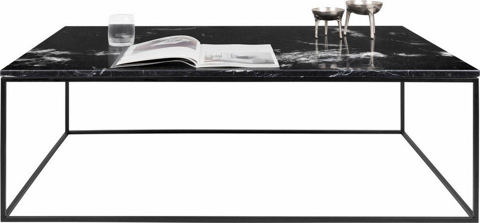 Andas Couchtisch Gleam Aus Marmor Wahlweise Mit Gestell Aus Chrom Oder Schwarzem Metall Masse B T H 120 75 40 Cm Online Kaufen Otto