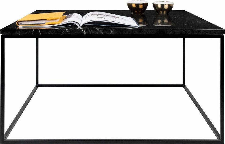 Andas Couchtisch Gleam Aus Marmor Wahlweise Mit Gestell Aus Chrom Oder Schwarzem Metall 2 Cm Starke Tischplatte Online Kaufen Otto