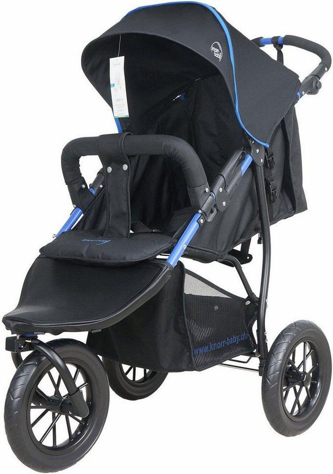 Knorr-baby Jogger-Kinderwagen,  Joggy S, schwarz-blau  online kaufen