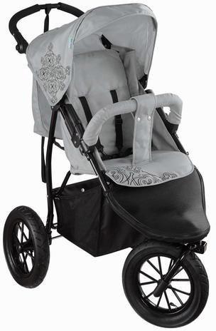 knorr baby jogger kinderwagen joggy s lightgrey black online kaufen otto. Black Bedroom Furniture Sets. Home Design Ideas