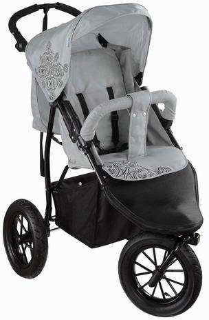 knorr-baby Jogger-Kinderwagen, »Joggy S, lightgrey-black«