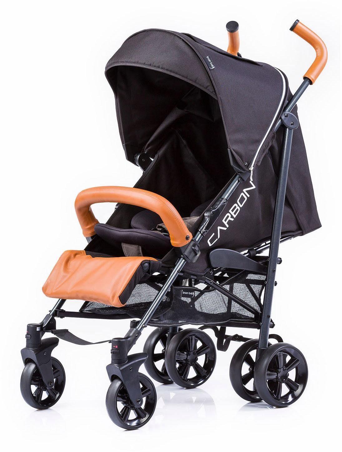 knorr-baby Buggy, »Carbon Art, schwarz-braun«