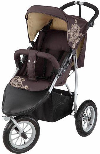 Knorrbaby Jogger-Kinderwagen »Joggy S Happy Colour, chocolate-beige«