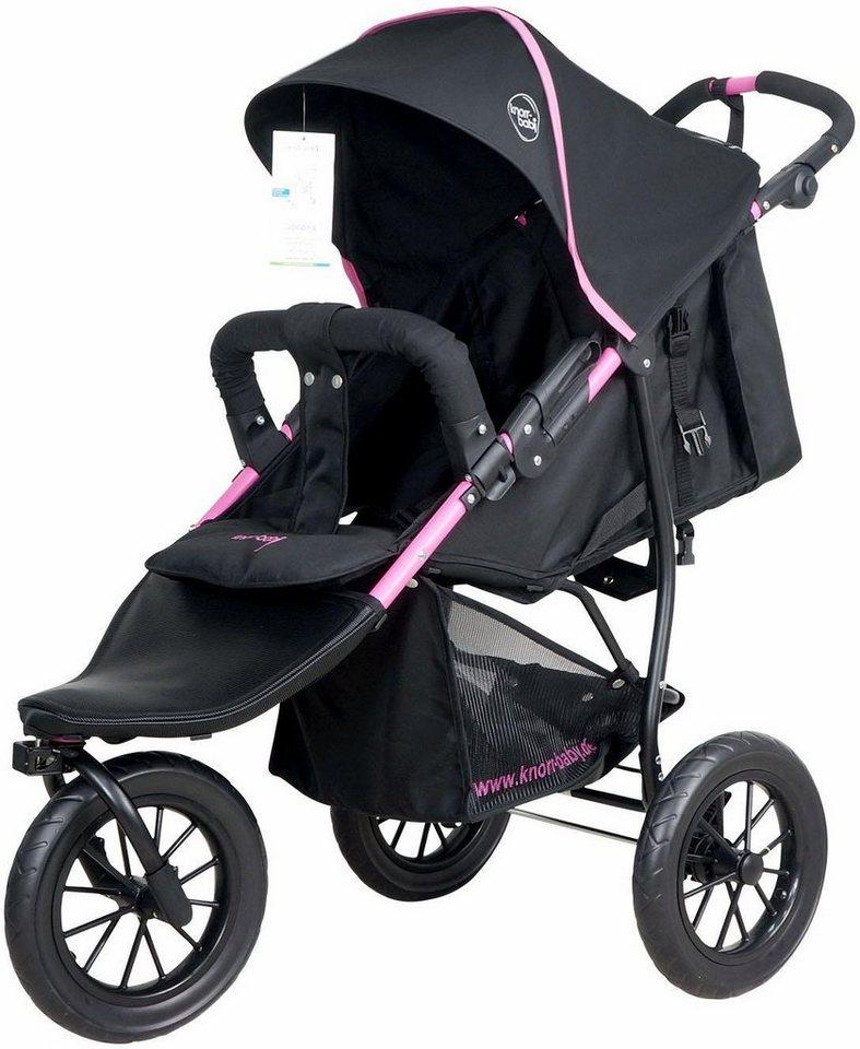 knorr baby jogger kinderwagen joggy s schwarz fuchsia online kaufen otto. Black Bedroom Furniture Sets. Home Design Ideas