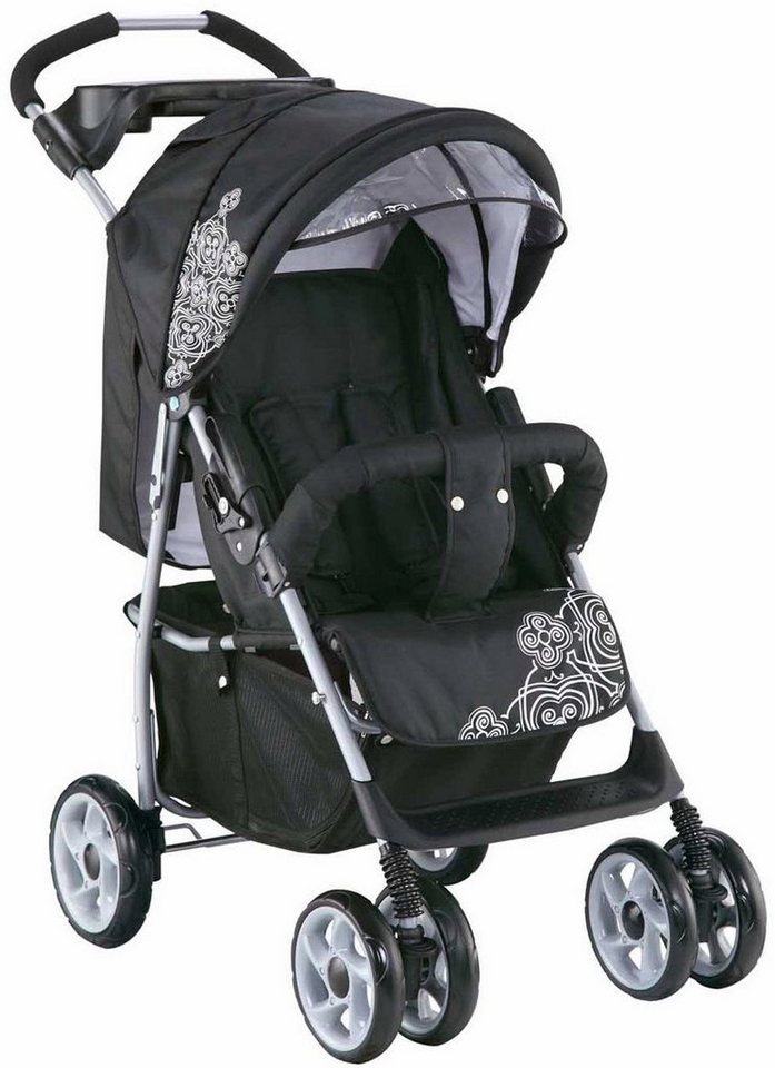 knorr baby sportbuggy v easy fold black white otto. Black Bedroom Furniture Sets. Home Design Ideas