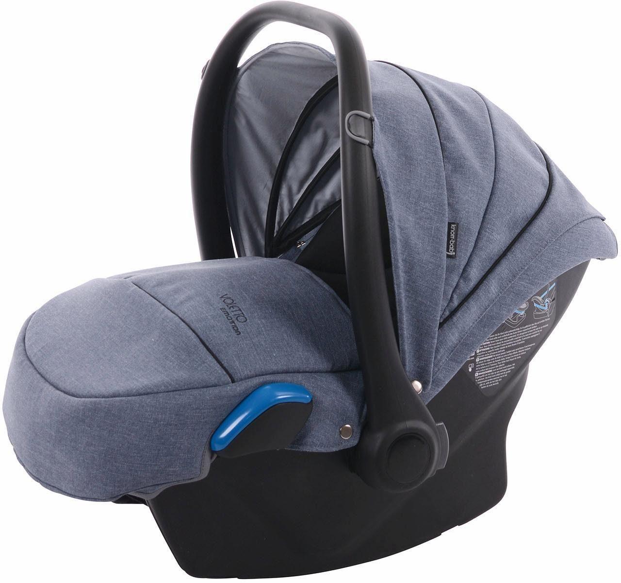 knorr-baby Babyschale, »Milan für Voletto Emotion, light blue«