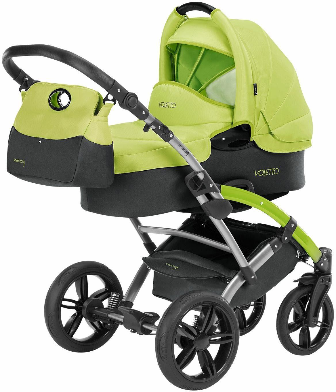 knorr-baby Kombi Kinderwagen, »Voletto Sport, grau-lemon«