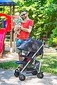 Knorrbaby Kinder-Buggy »Volkswagen Convert, grau«, mit schwenk- und feststellbaren Vorderrädern, Bild 8