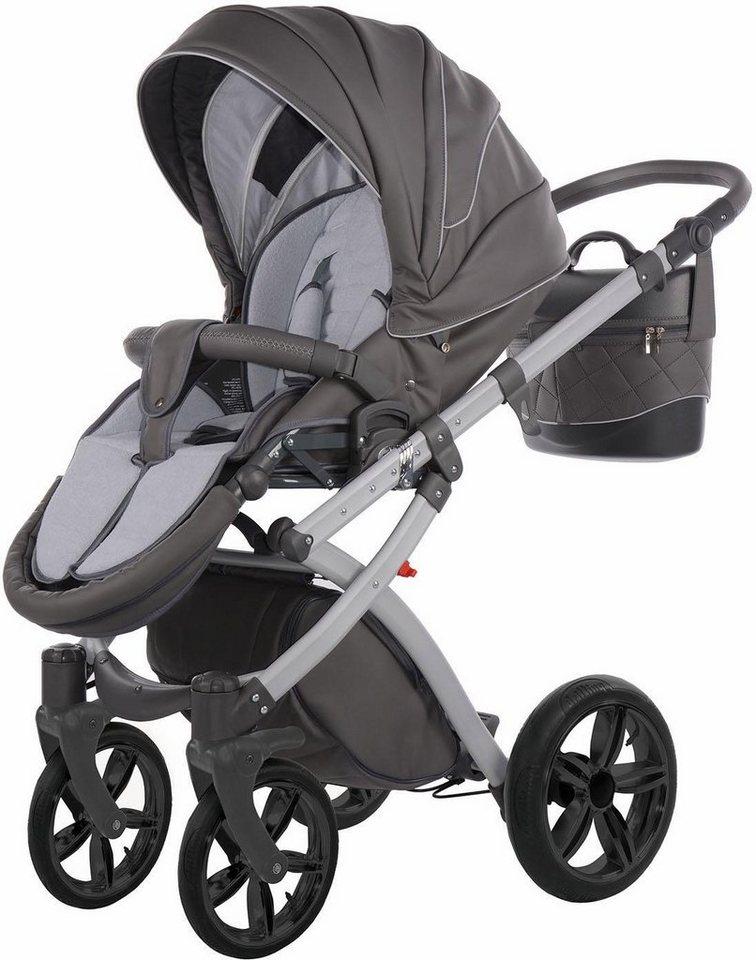 Knorr-baby Kombi Kinderwagen Set,  Alive Pure, grau  online kaufen