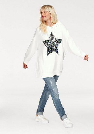 gwynedds Kapuzensweatshirt Brittany the Hoodie, mit Pailetten