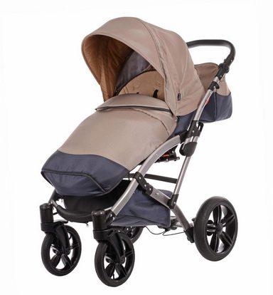 Knorr-baby Kombi Kinderwagen online Set,  Voletto Sport, grau-sand  online Kinderwagen kaufen 62927a
