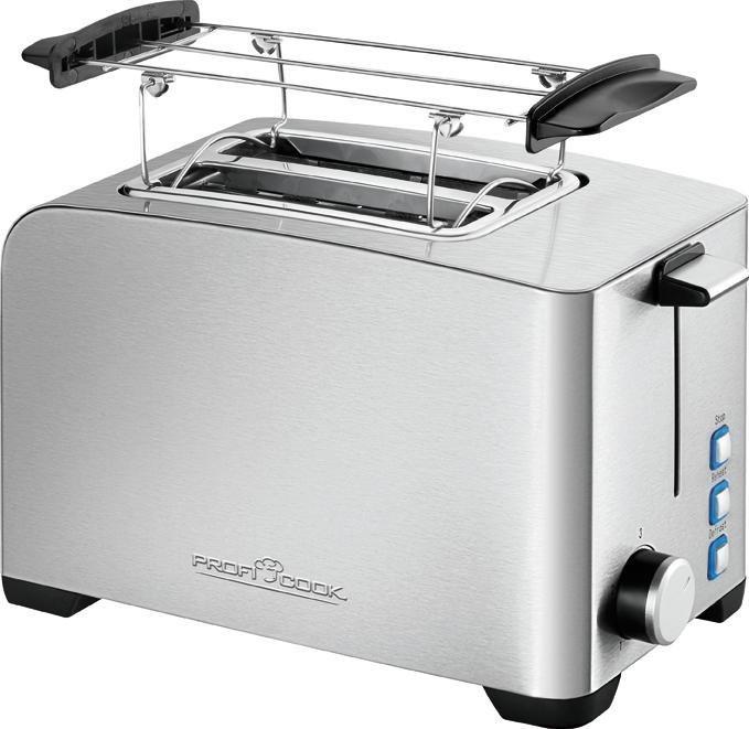proficook toaster pc ta 1082 f r 2 scheiben 800 w online. Black Bedroom Furniture Sets. Home Design Ideas