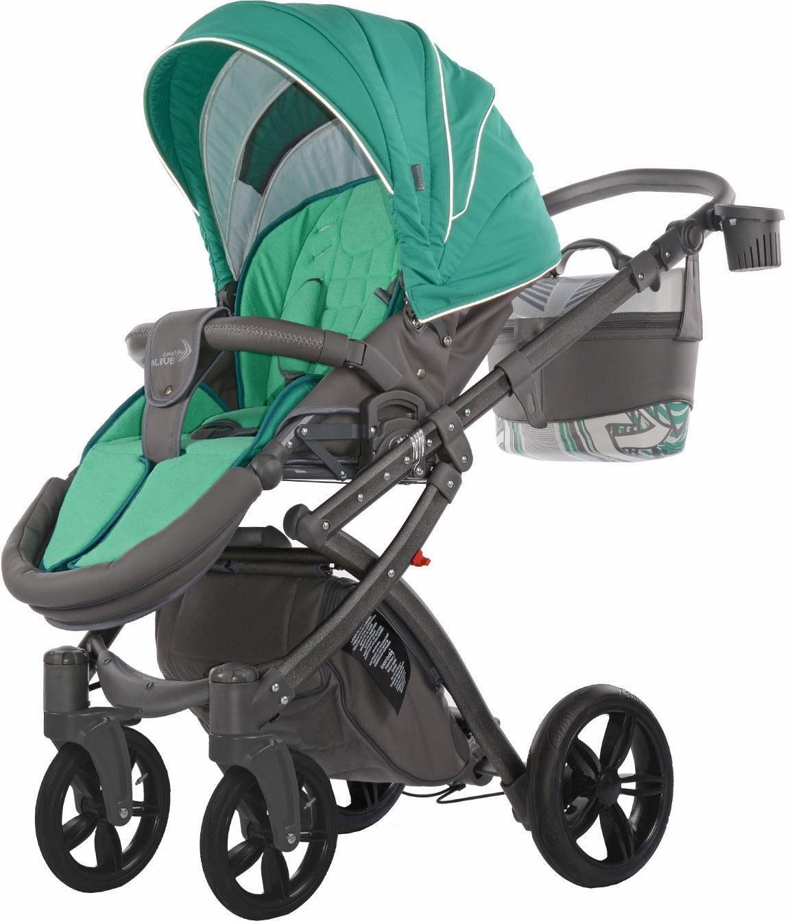 knorr-baby Kombi Kinderwagen, »Alive Energy, grün«