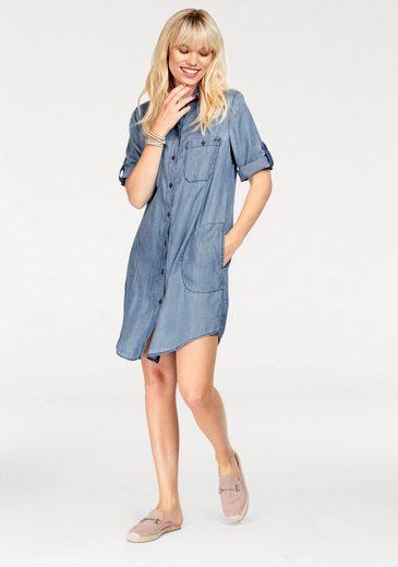 Replay Jeanskleid, mit aufgesetzten Brusttaschen