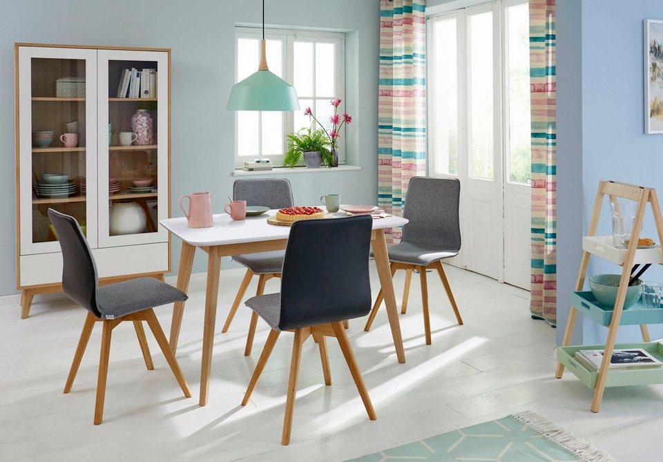 Guido Maria Kretschmer Home&Living Esstisch »Calluna«, Calluna», im  modernen, skandinavischen Design, in verschiedenen Größen und Farben online  kaufen ...