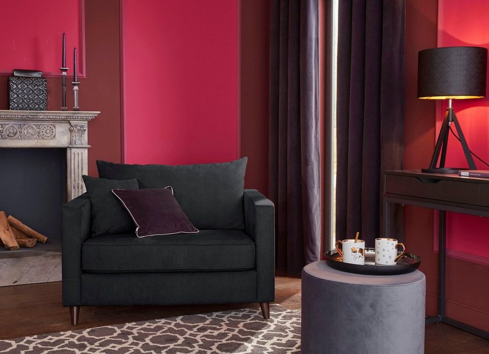 gmk home living sessel loveseat renesse lose kissen keder an sitzkissen online kaufen otto. Black Bedroom Furniture Sets. Home Design Ideas
