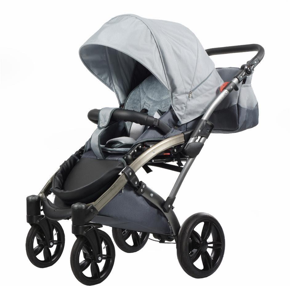 knorr-baby Kombi Kinderwagen, »Voletto Sport, grau«