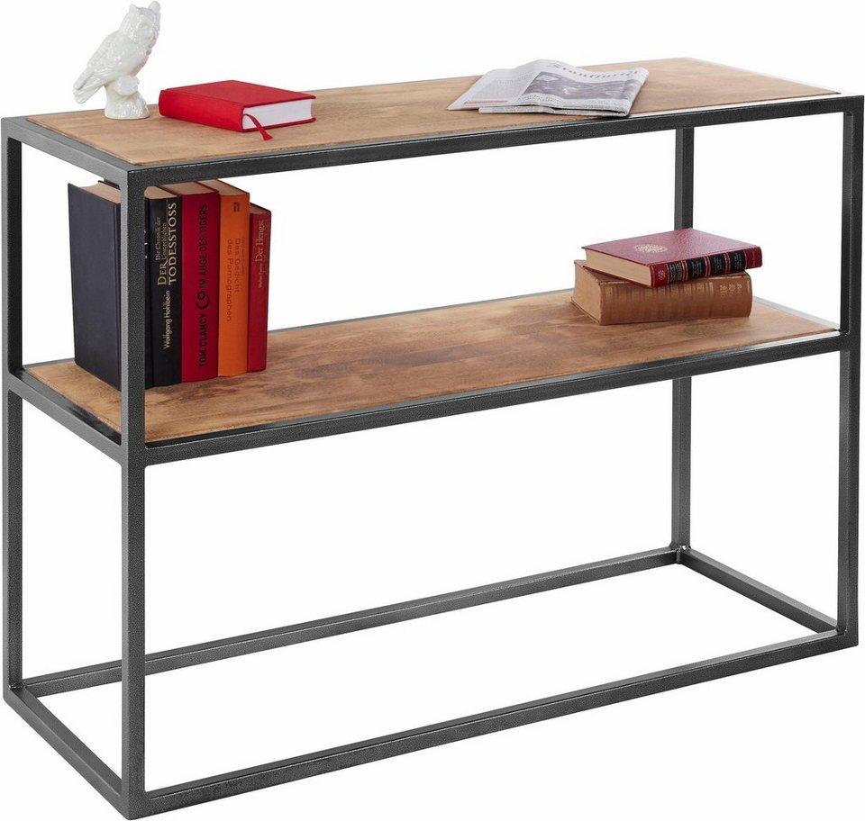 home affaire konsole breite 100 cm fsc zertifiziertes. Black Bedroom Furniture Sets. Home Design Ideas