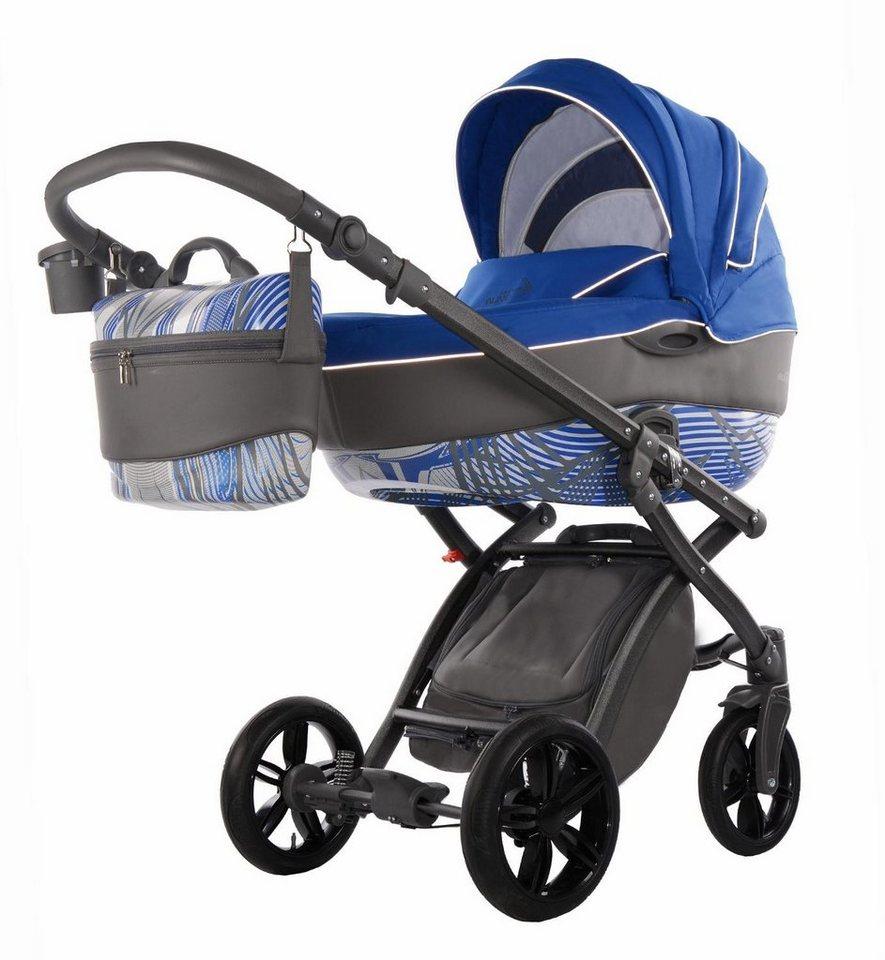 knorr baby kombi kinderwagen set alive energy azurblau. Black Bedroom Furniture Sets. Home Design Ideas