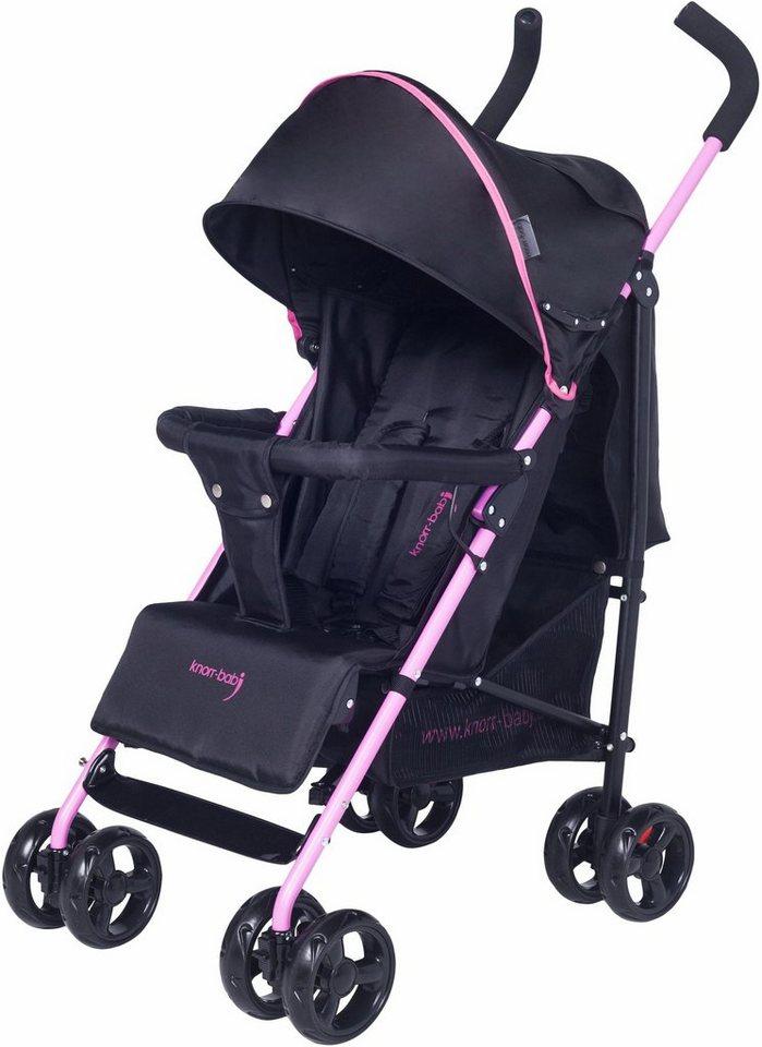 knorr baby buggy styler schwarz fuchsia kaufen otto. Black Bedroom Furniture Sets. Home Design Ideas