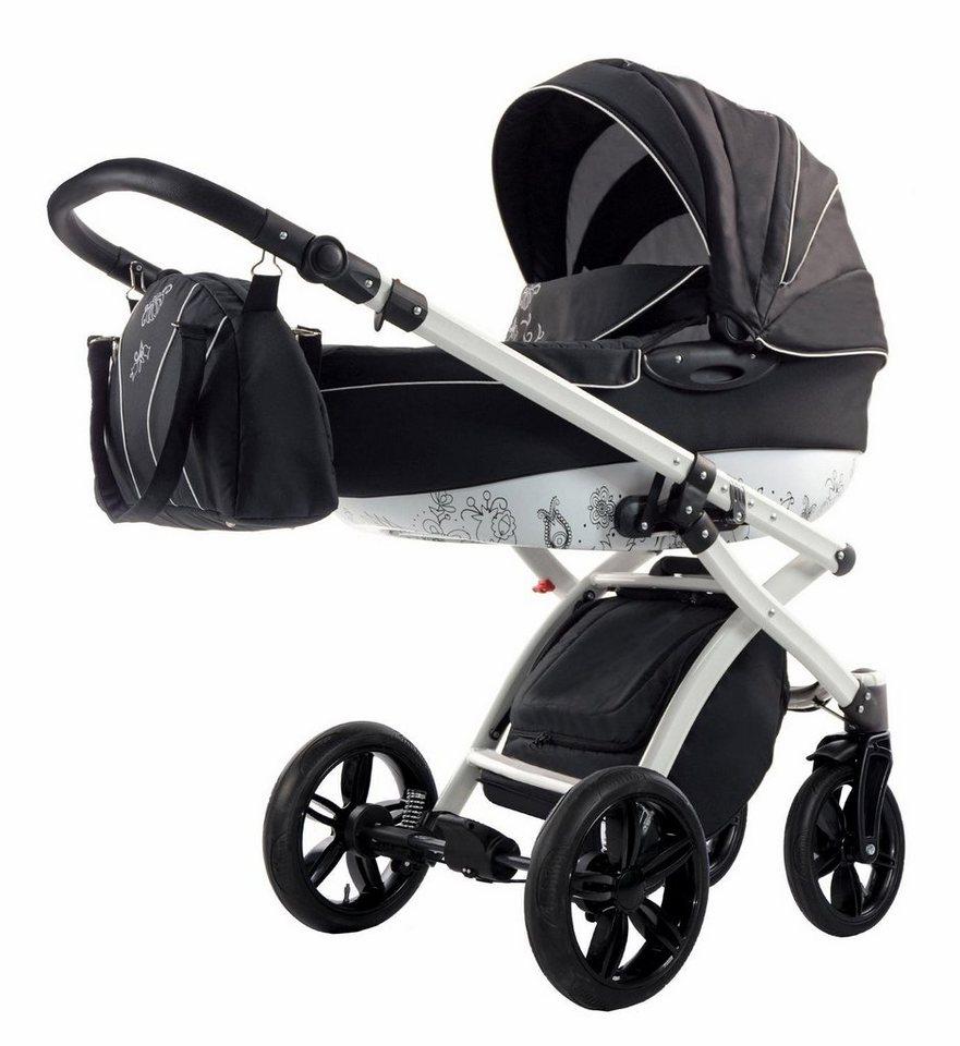 Knorr Baby Kombi Kinderwagen Set Alive Art Schwarz Weiß Online