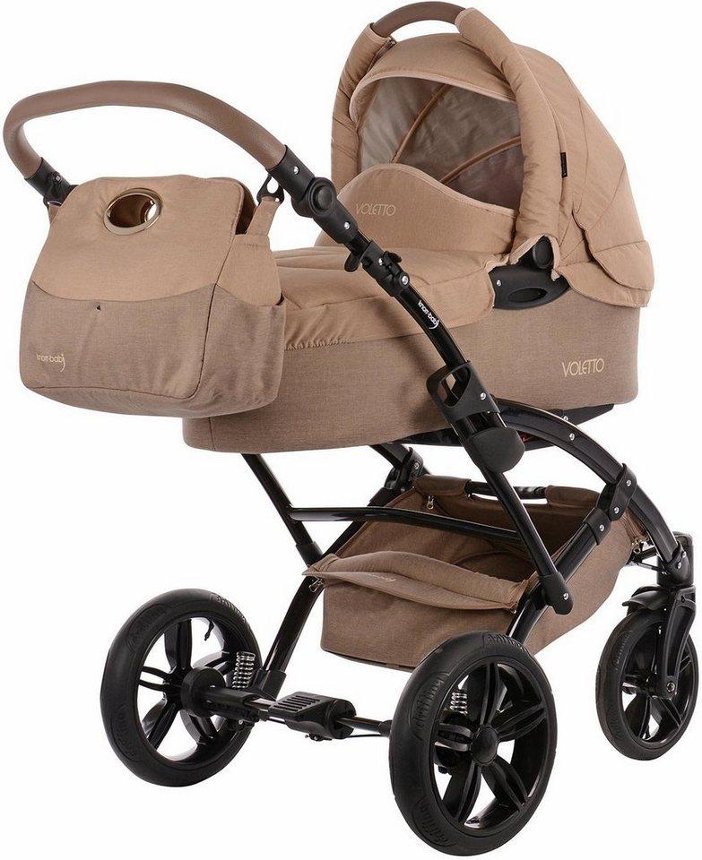 knorr baby kombi kinderwagen voletto happy colour sand beige online kaufen otto. Black Bedroom Furniture Sets. Home Design Ideas
