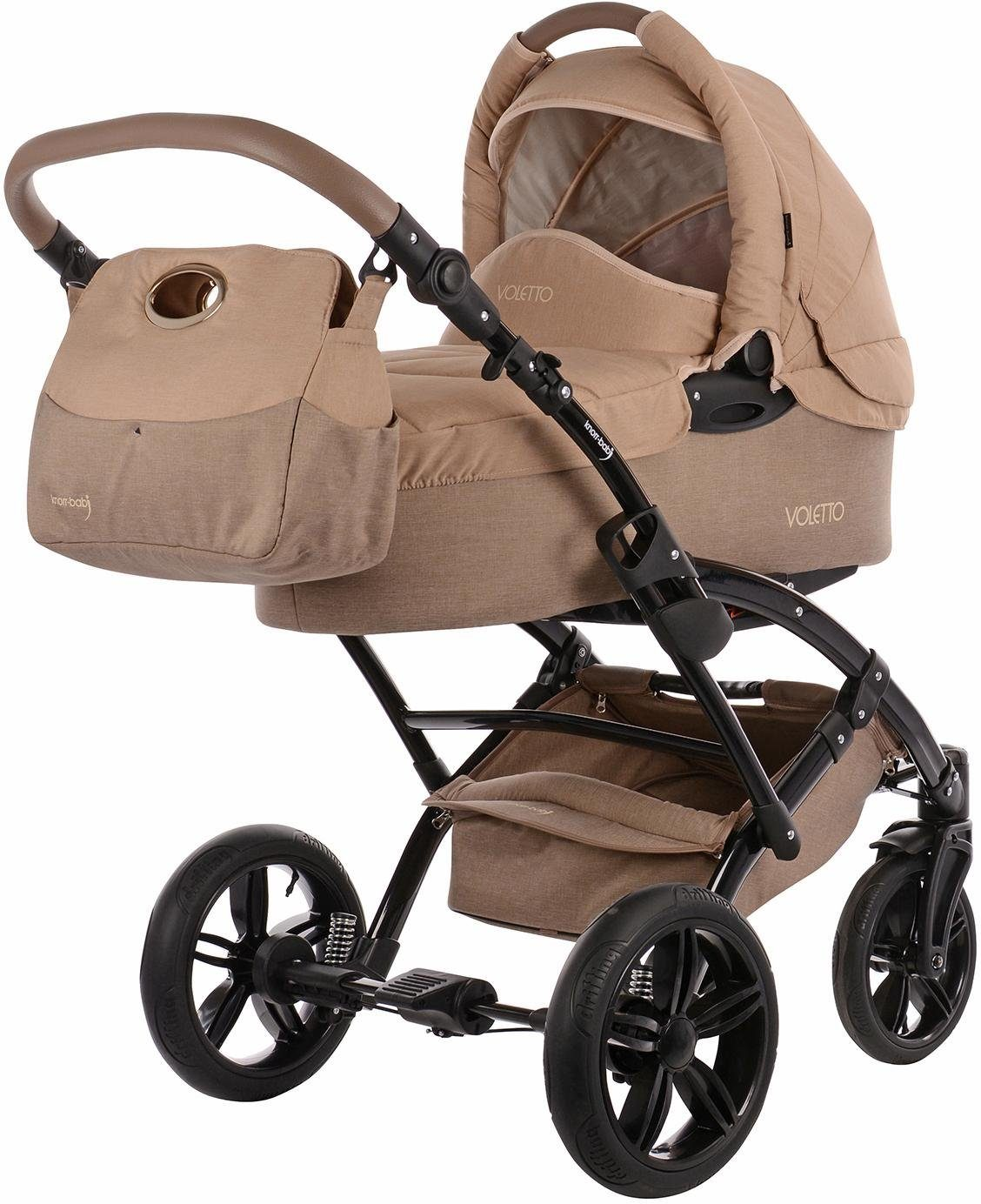 knorr-baby Kombi Kinderwagen, »Voletto Happy Colour, sand-beige«