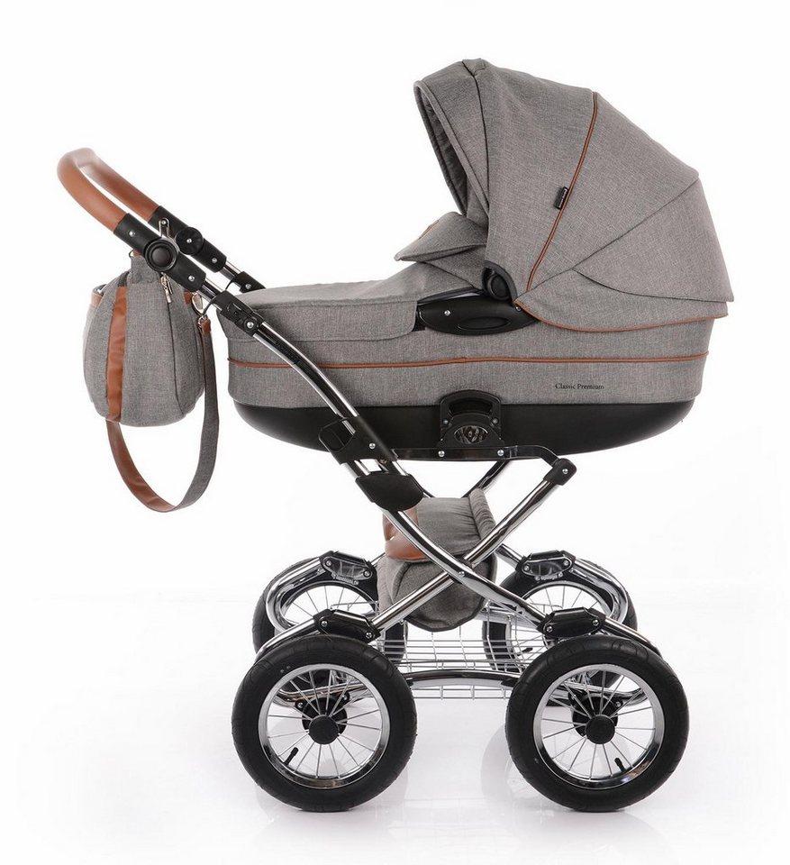 knorr baby kombi kinderwagen set classic premium hellgrau online kaufen otto. Black Bedroom Furniture Sets. Home Design Ideas