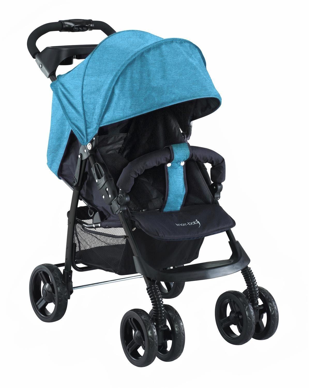 knorr-baby Sportbuggy, »V-Easy Fold Melange, blau«