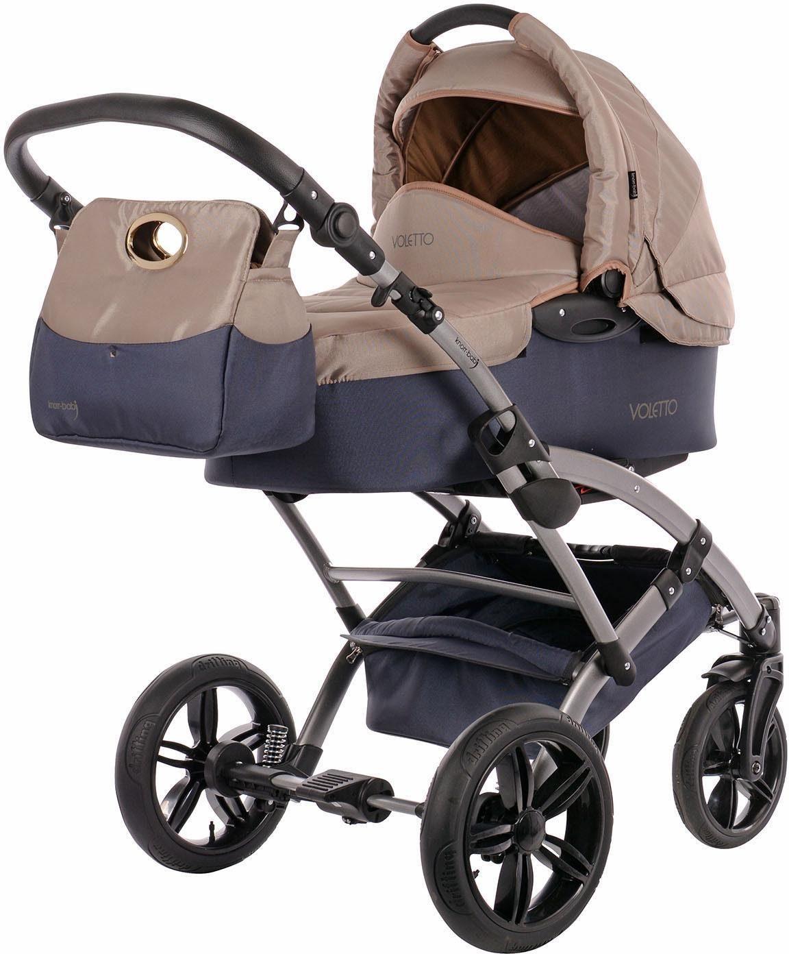 knorr-baby Kombi Kinderwagen Set, »Voletto Sport, grau-sand«