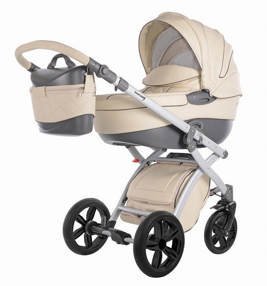 Knorr-baby Kombi Kinderwagen Set,  Alive Pure, ecru  online kaufen