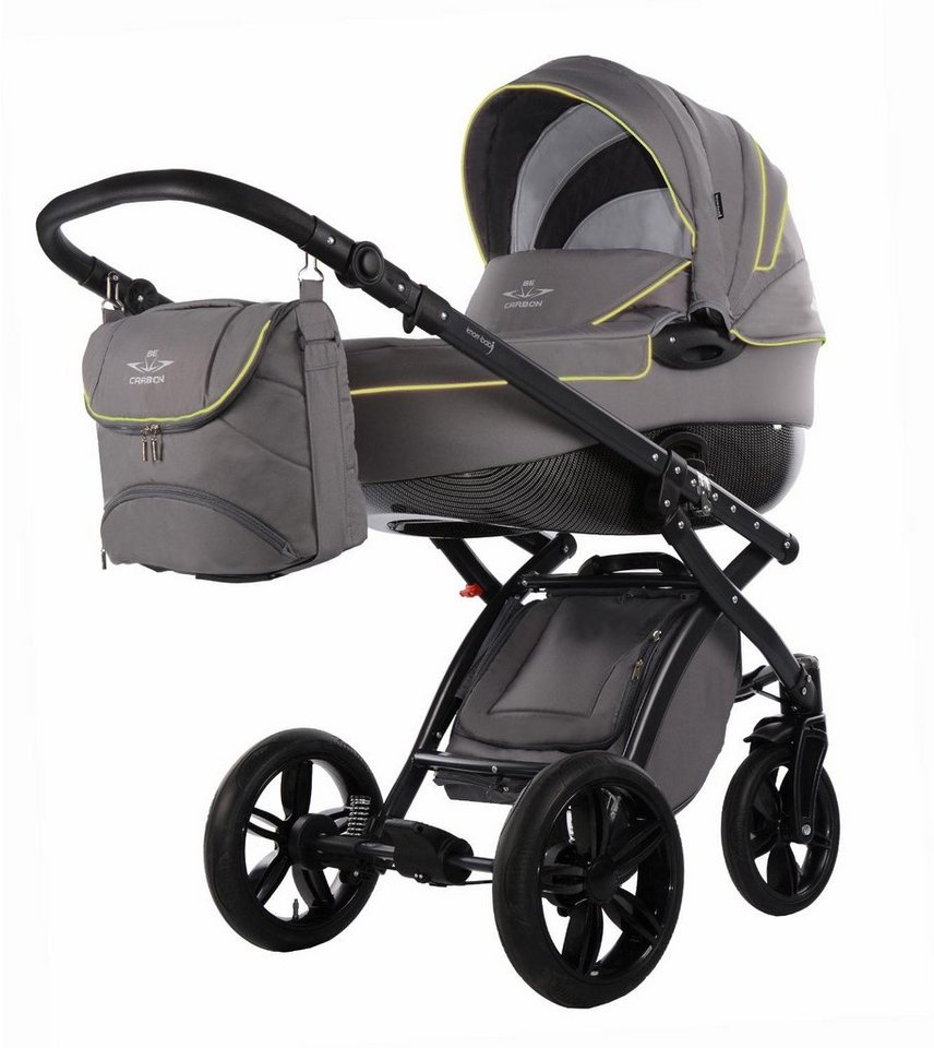knorr-baby Kombi Kinderwagen Set, »Alive Be Carbon, grau ...