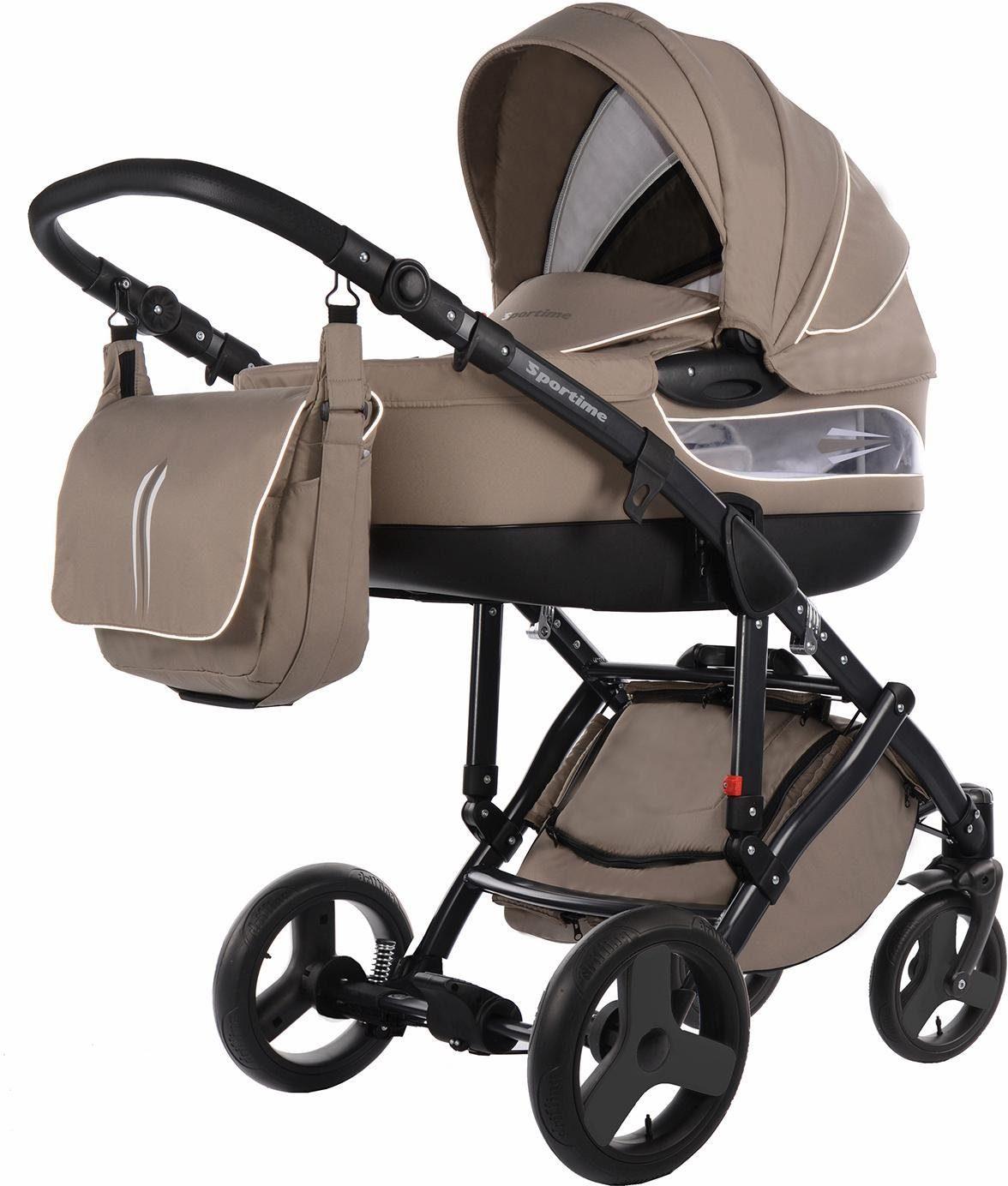 knorr-baby Kombi Kinderwagen, »Sportime, beige«