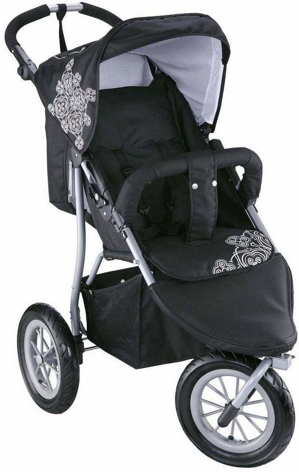 knorr baby jogger kinderwagen joggy s black white online kaufen otto. Black Bedroom Furniture Sets. Home Design Ideas