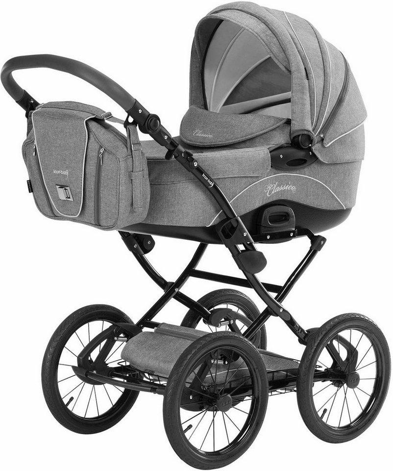 Knorr-baby Kombi Kinderwagen Set,  Classico, hellgrau  online kaufen