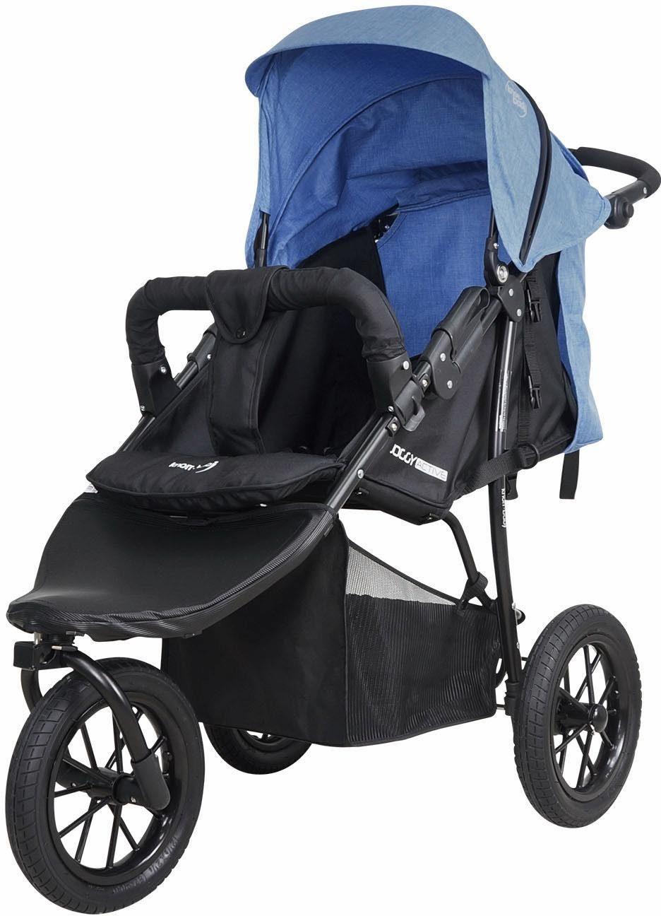 knorr-baby Jogger-Kinderwagen, »Joggy Novo Active, schwarz-jeans«