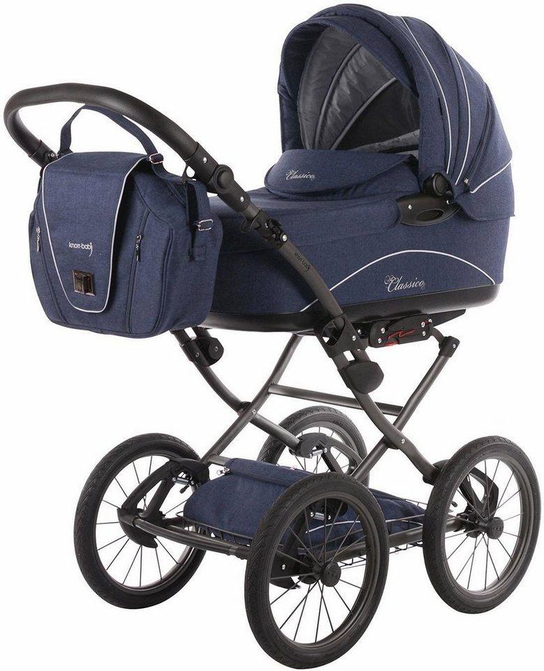 knorr baby kombi kinderwagen classico emotion night blue online kaufen otto. Black Bedroom Furniture Sets. Home Design Ideas